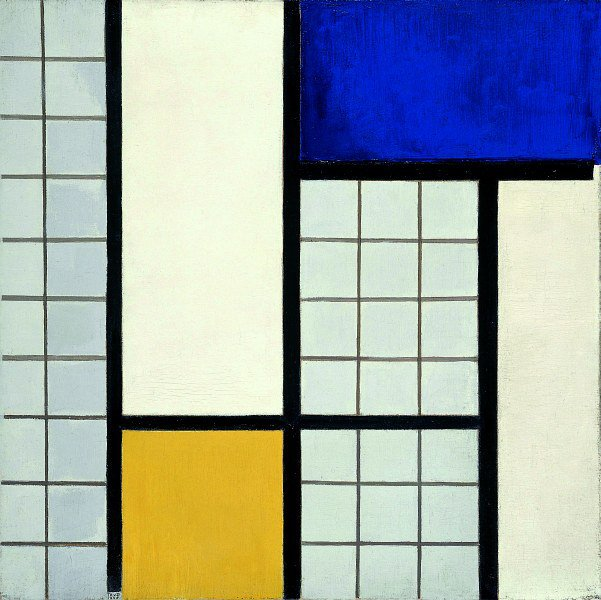 Theo van Doesburg Composition in Half-Tones 1928
