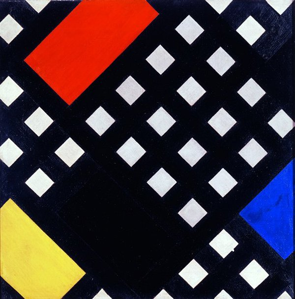 Theo van Doesburg Contra-Composition XV 1925