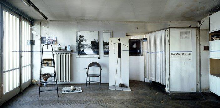 Edward Krasiński, The Studio 2004
