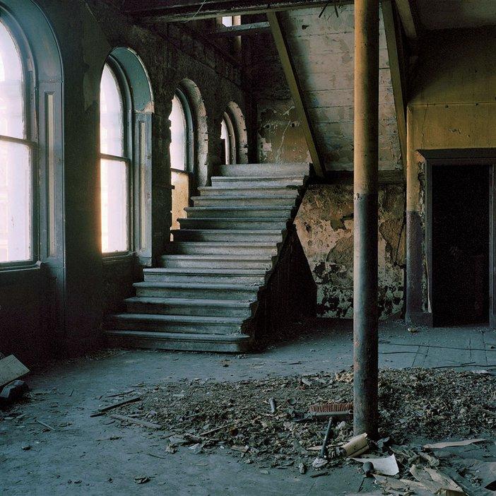 Thomas Haywood Staircase in the Britannia Panopticon Glasgow 2005