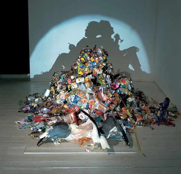 Tim Noble and Sue Webster Dirty White Trash (With Gulls) 1998