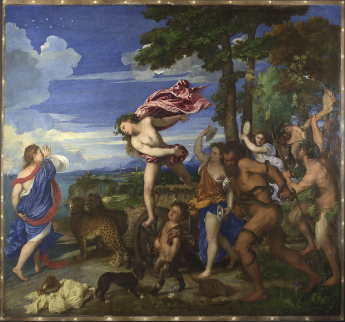 Titian, Bacchus and Ariadne, 1520-3