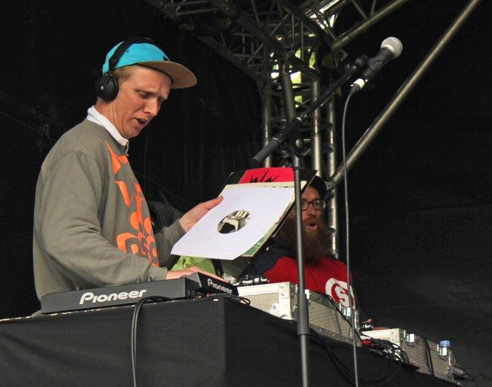 Toby Kidd DJing