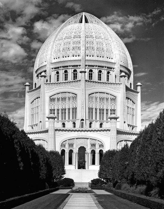 Tom Johnston The Bahaì Temple in Wilmette Illinois