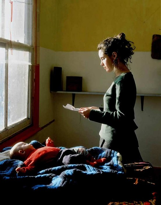 Tom Hunter Woman Reading Possession Order 1998