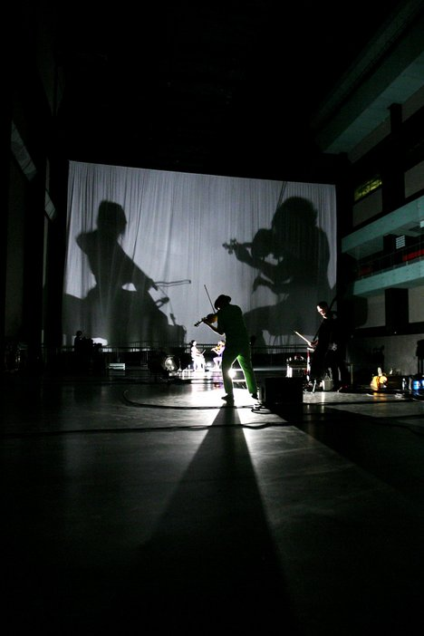 Tony Conrad, Unprojectable: Projection and Perspective 2008