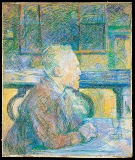 Henri de Toulouse Lautrec Portrait of Vincent van Gogh 1887