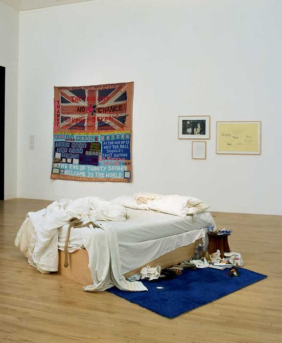 Tracey Emin My Bed 1999 & Somethingu0027s wrong | Tate