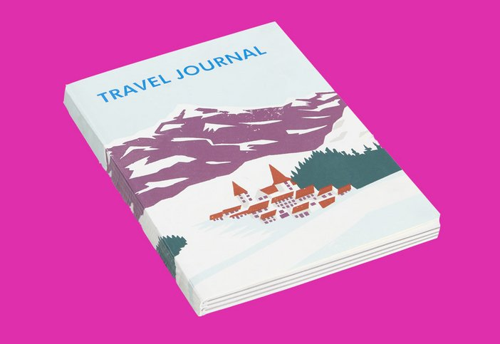 Snow travel journal, Tate online shop, £10.00
