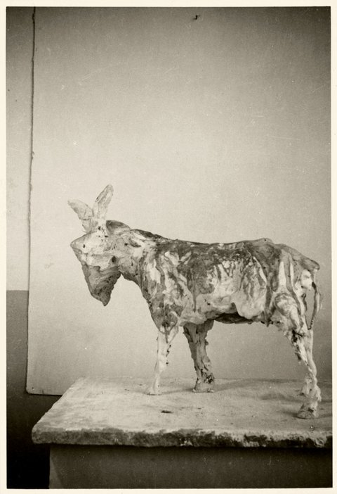 Peter Lanyon Beast 1953 destroyed