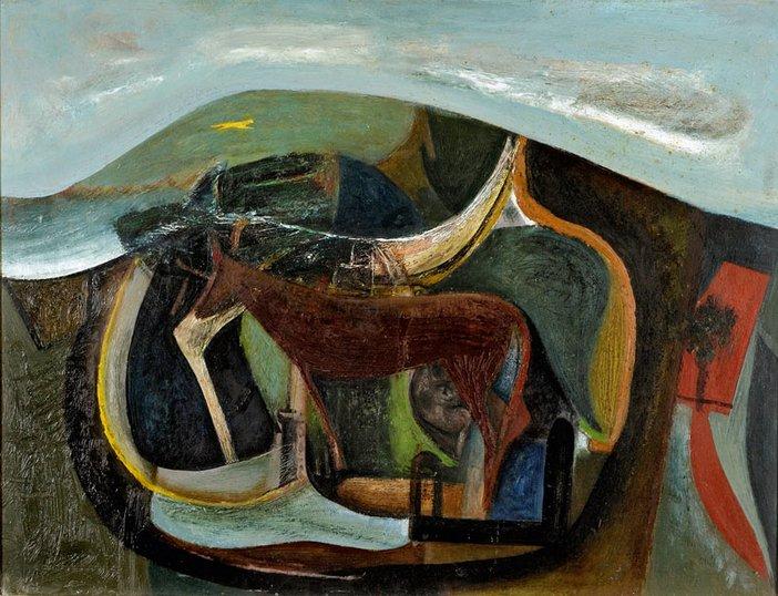 Peter Lanyon The Yellow Runner 1946