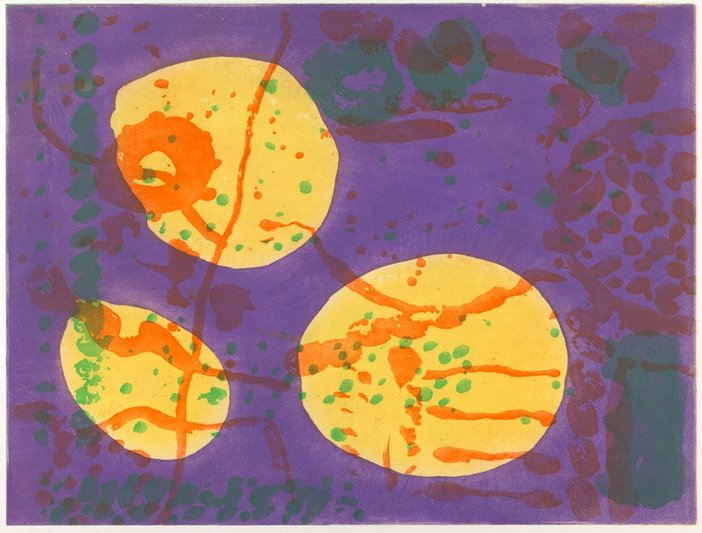 Patrick Heron from The Brushwork Series No. 3 1998–9 in the Tate St Ives Summer exhibition 2013