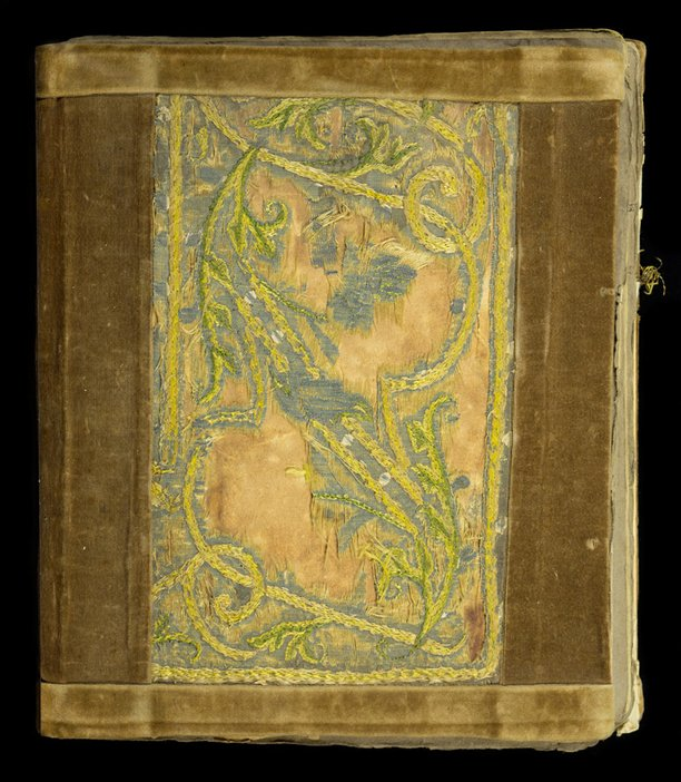 Front cover of Thomas Cooper Gotch and Henry Scott Tuke scrapbook