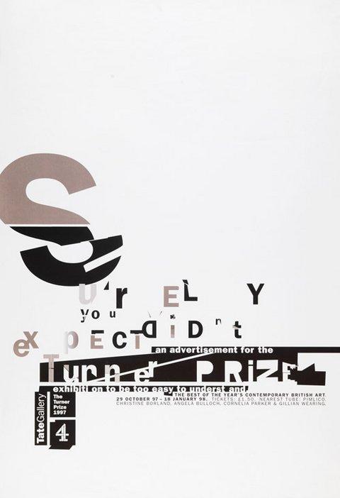 Turner Prize 1997 poster