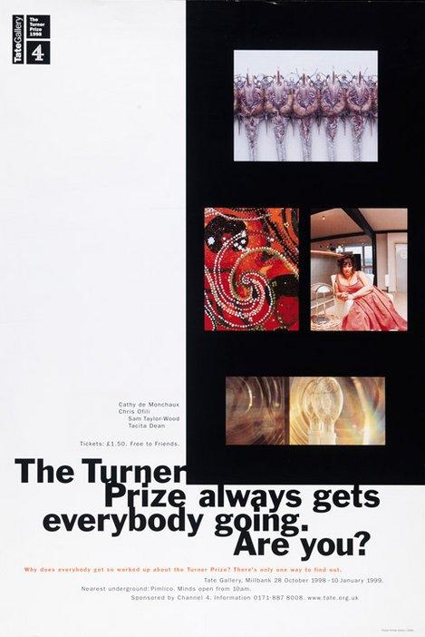 Turner Prize 1998 poster