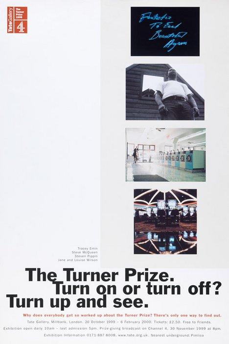 Turner Prize 1999 poster