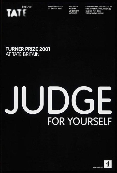 Turner Prize 2001 poster