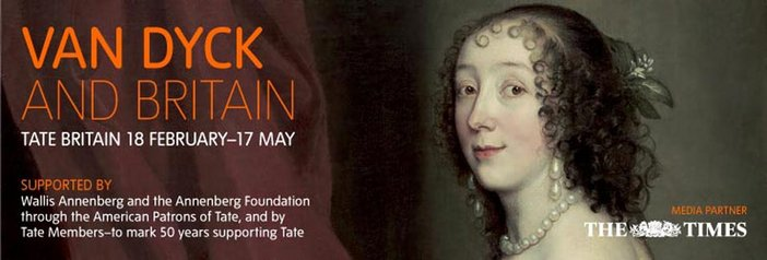 Van Dyck and Britain exhibition banner