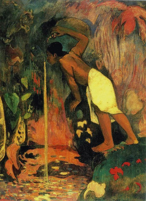 Paul Gauguin Pape moe 1893