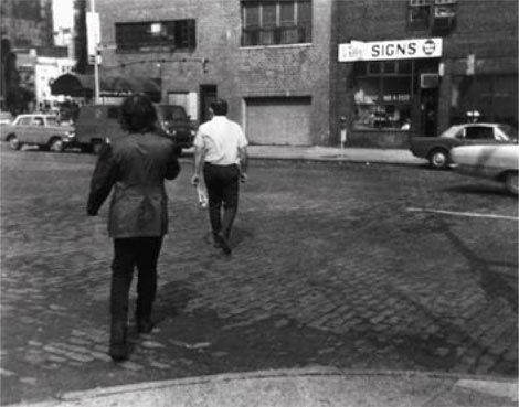 Vito Acconici Following Piece 1969