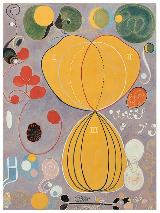 Hilma af Klint, The Ten Biggest, No 7 1907
