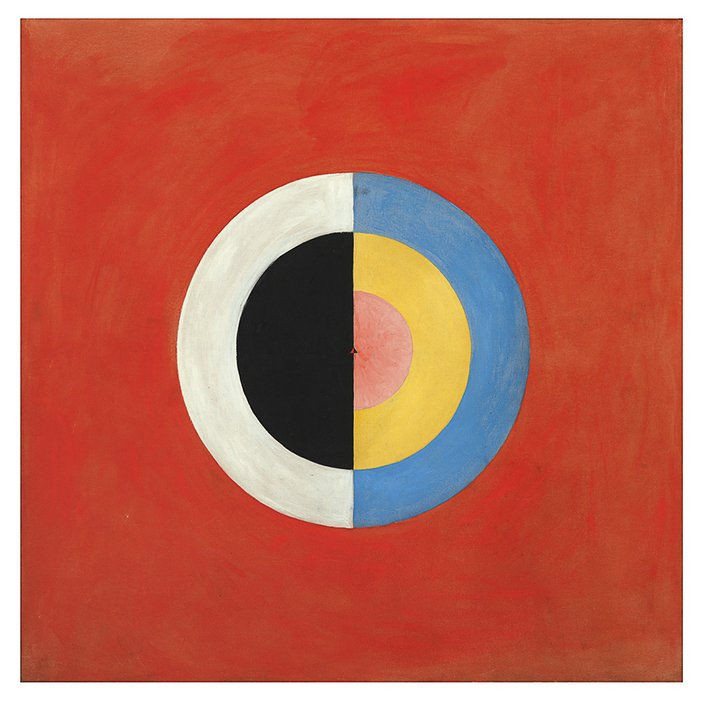 Hilma af Klint, The Swan, No 17, Group IX, Series SUW 1914-1915