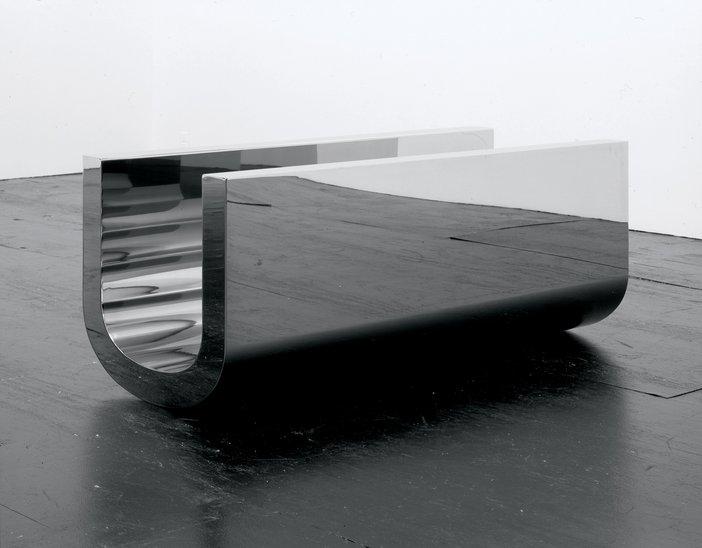 Wade Guyton U Sculpture 2005