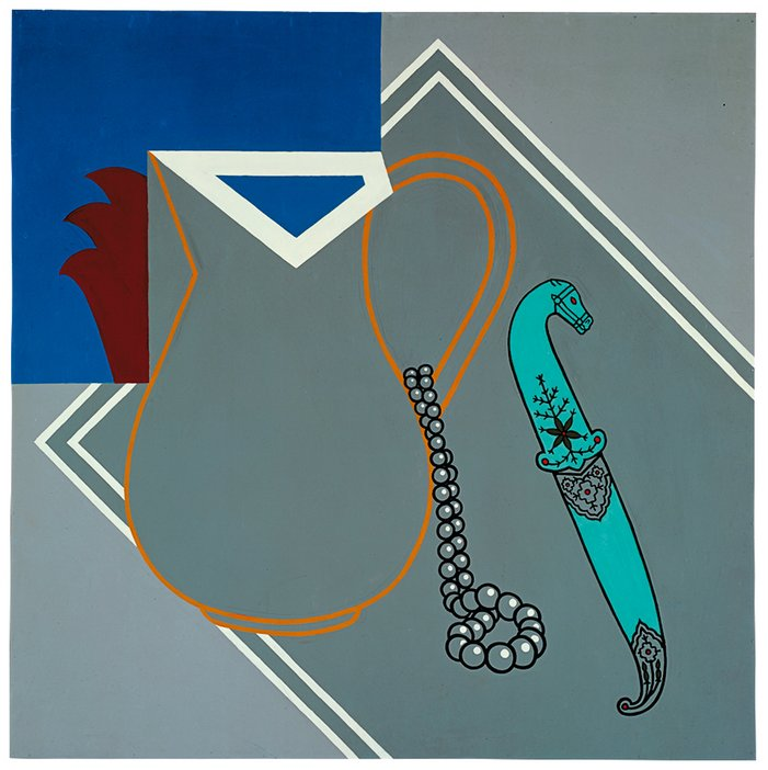 Patrick Caulfield - Still Life with Dagger, 1963