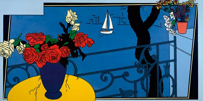 Patrick Caulfield - Santa Margherita Ligure 1964
