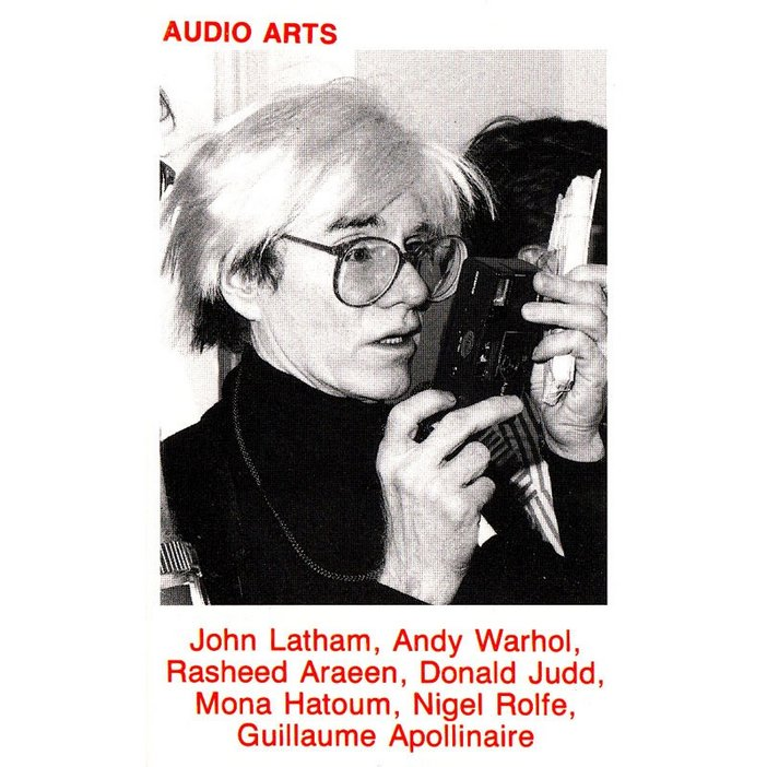 Inlay (reverse) for Audio Arts Volume 8 Nos 2 and 3 published in 1987