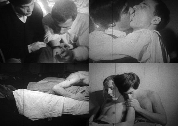 Warren Sonbert and Wendy Appel, Amphetamine, 1966. Warren Sonbert's films will be screened at Tate Modern 24 – 27 October 2013