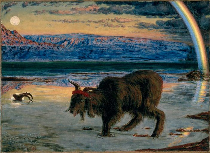 William Holman Hunt The Scapegoat 1854–5