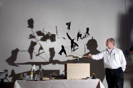 William Kentridge with his works for Da Capo