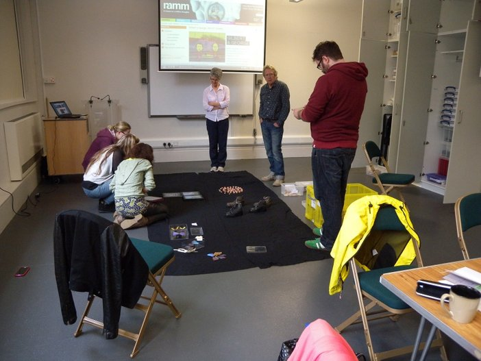 Tablets of Art project at RAMM, Exeter