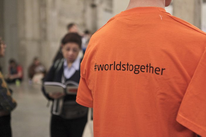 Image of a Worlds Together T-Shirt