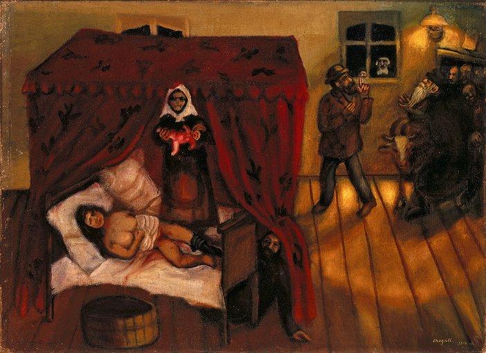 Marc Chagall, Birth, 1910