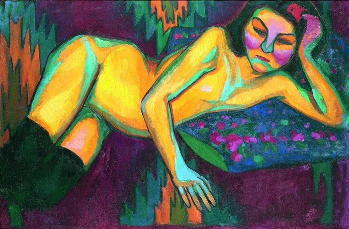 Sonia Delaunay, Yellow Nude
