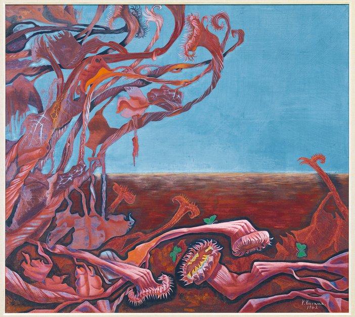 Yayoi Kusama Lingering Dream 1949
