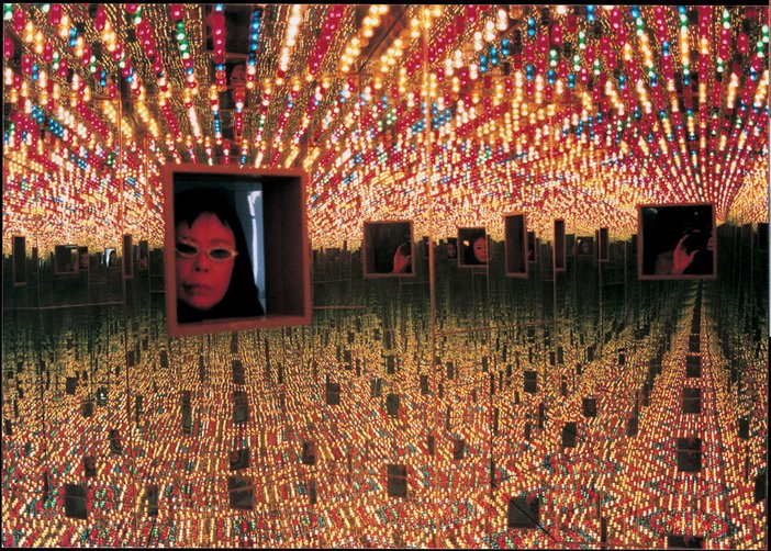 Yayoi Kusama Infinity Mirrored Room Love Forever 1966 remade 1994 Installation view