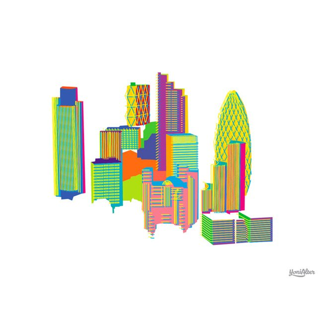 Yoni Alter, City of London print