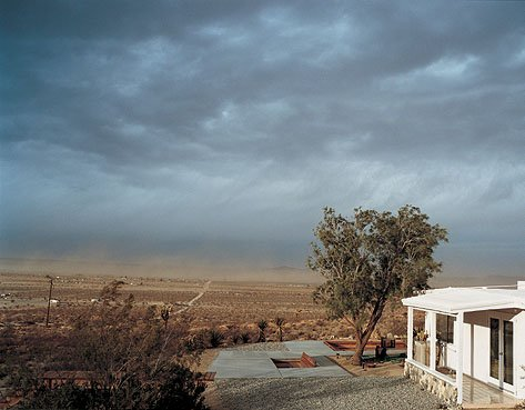 Andrea Zittel A-Z West Andrea Zittel's homestead on the edge of the Mojave Desert