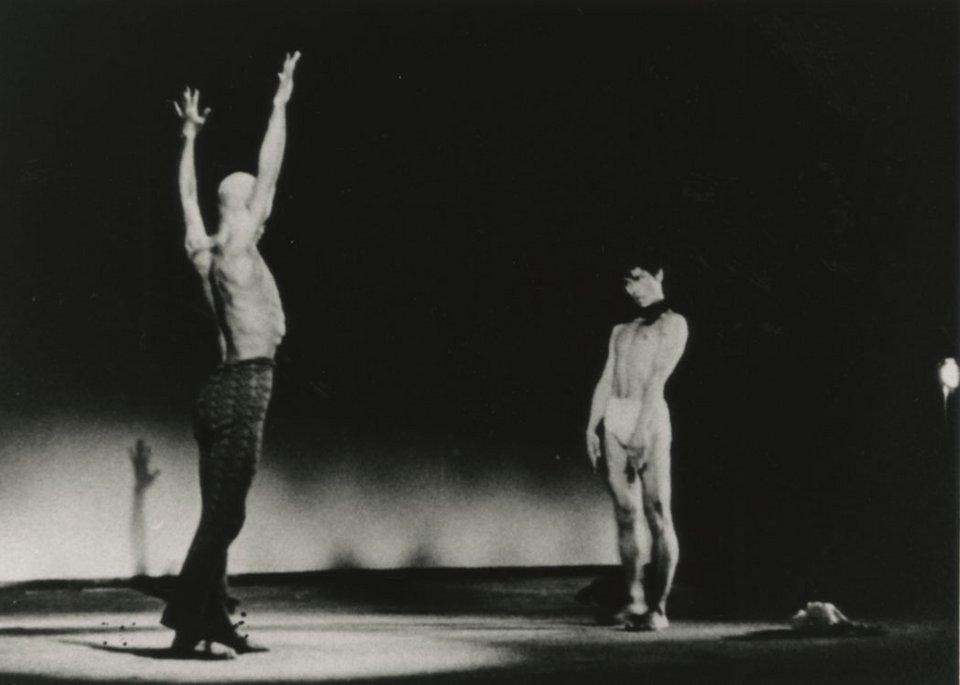 Tatsumi Hijikata and Yoshito Ohno Forbidden Colours 1959