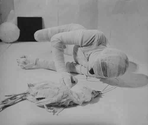 Rudolf Schwarzkogler 6th Action 1966