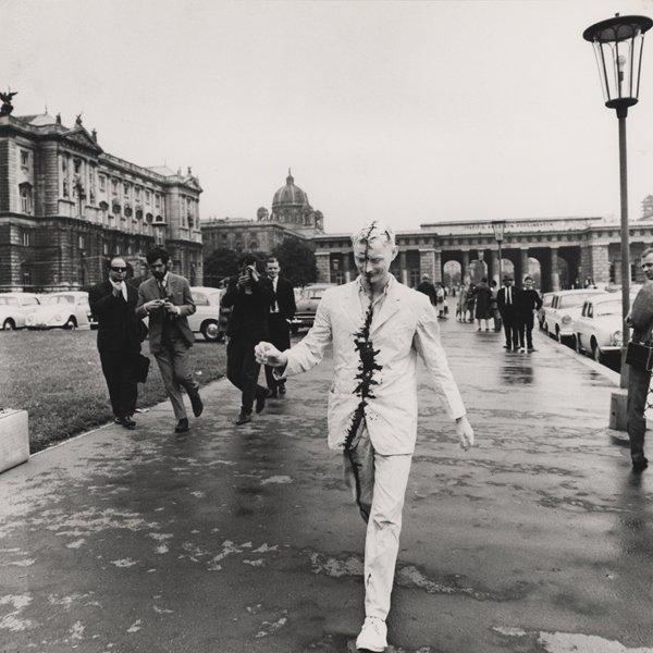 Günter Brus Vienna Walk 1965