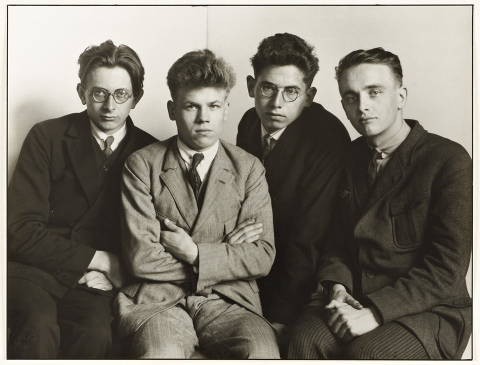 August Sander Working Students 1926