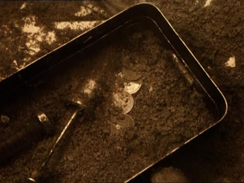 Andrei Tarkovsky Stalker 1979 Coins amidst the submerged refuse