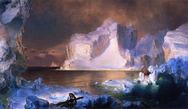 Frederic Edwin Church The Icebergs 1861