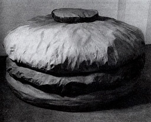 Claes Oldenburg Floor Burger 1962