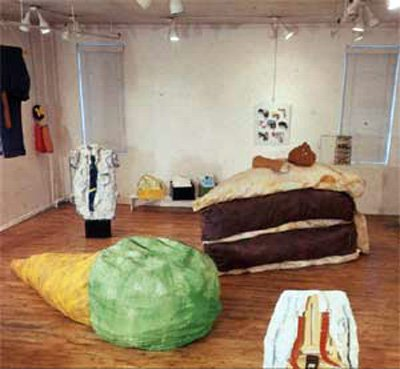 Claes Oldenburg Floor Cone 1962