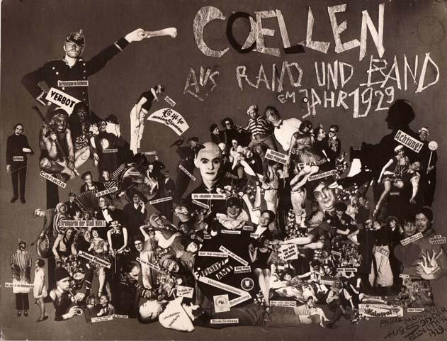 August Sander Coellen aus Rand und Band em Jahr 1929 (Cologne goes wild in the year 1929)